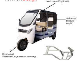 Nro 20 kilpailuun Industrial Concept Product Design for a Three-Wheeler EV käyttäjältä intastic