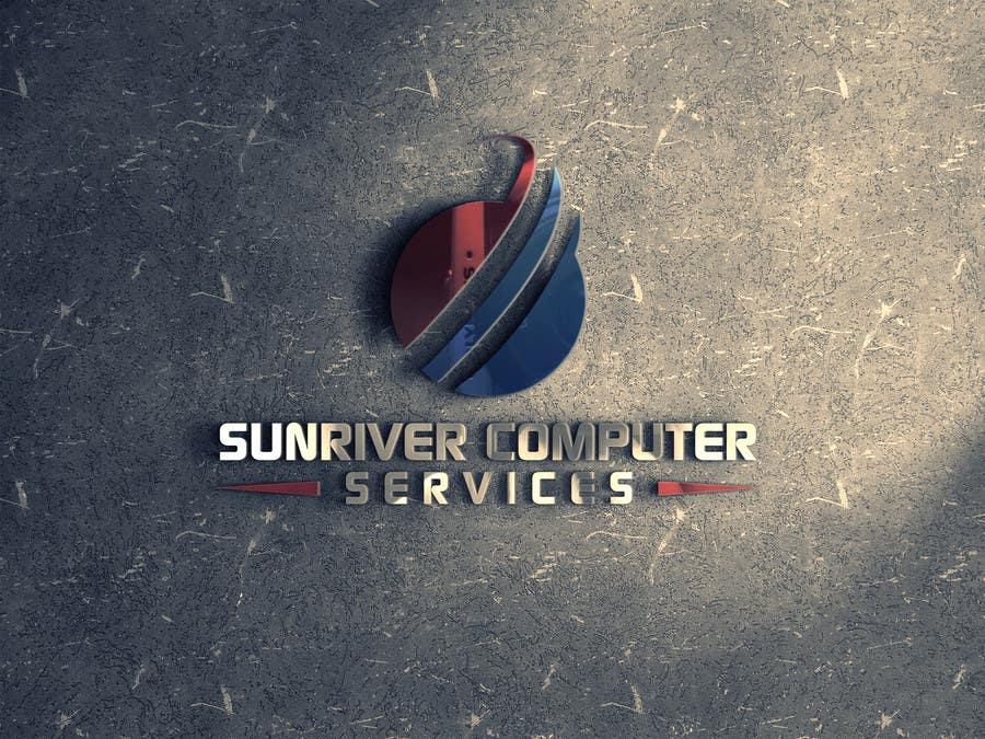 Penyertaan Peraduan #94 untuk Design a Logo for Sunriver Computer Services
