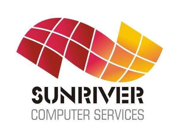 Penyertaan Peraduan #102 untuk Design a Logo for Sunriver Computer Services