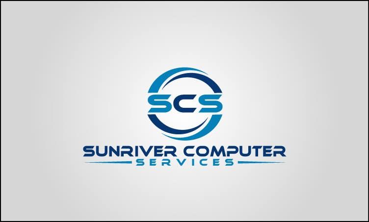 Penyertaan Peraduan #70 untuk Design a Logo for Sunriver Computer Services
