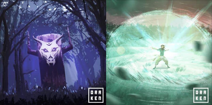 Konkurrenceindlæg #                                        32                                      for                                         Fantasy Card Game Art - Contest 8 (spells)
