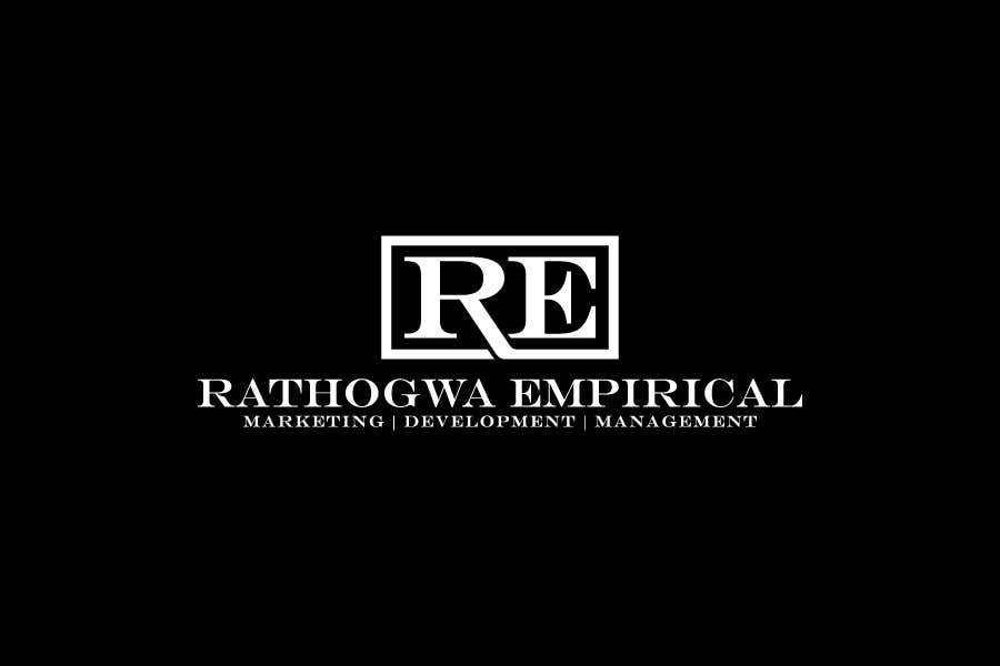 Konkurrenceindlæg #                                        1                                      for                                         Logo Design for Rathogwa Empirical, a strategy and business consultancy firm