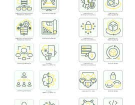 #36 for 2 sets of 4 icons needed. Digital Computing Cybersecurity Domain. af Grabarvl
