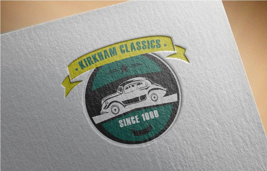 Konkurrenceindlæg #                                        38                                      for                                         Design a Logo for a Classic Car Company