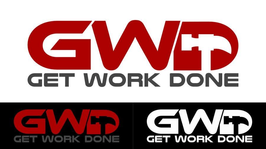 Konkurrenceindlæg #10 for Design a Logo for Get Work Done