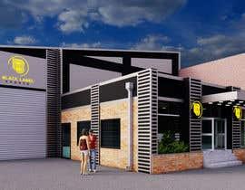 Nro 16 kilpailuun Warehouse Architectural Render Facade käyttäjältä banduwardhana