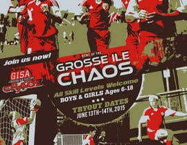 nº 18 pour Alter a Image for youth soccer flyer par igormzivkovic