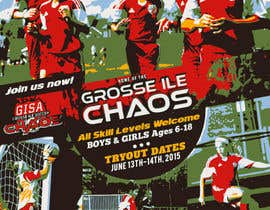 nº 21 pour Alter a Image for youth soccer flyer par igormzivkovic