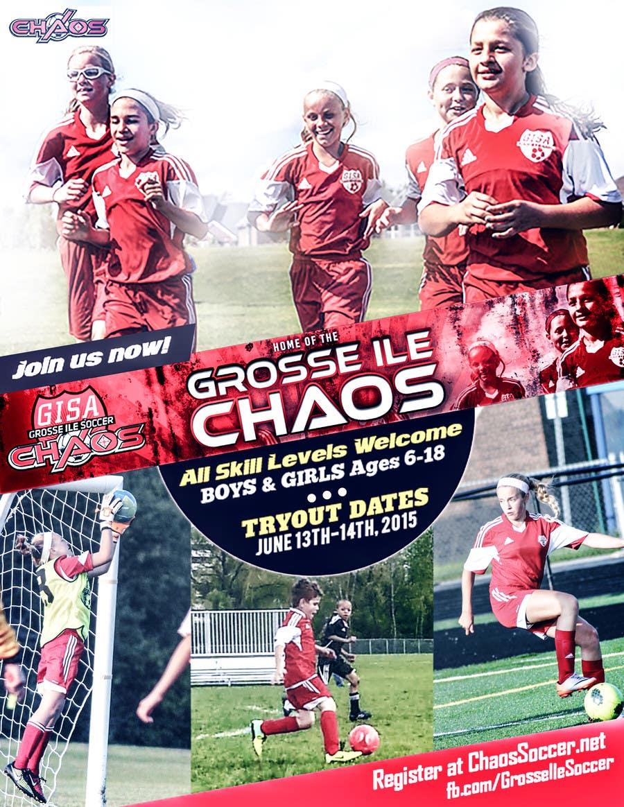 Konkurrenceindlæg #                                        22                                      for                                         Alter a Image for youth soccer flyer