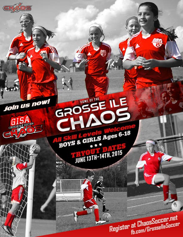 Konkurrenceindlæg #                                        8                                      for                                         Alter a Image for youth soccer flyer