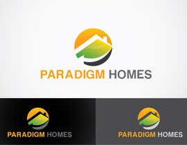 #92 for Design a Logo for PARADIGM HOMES af anoopray