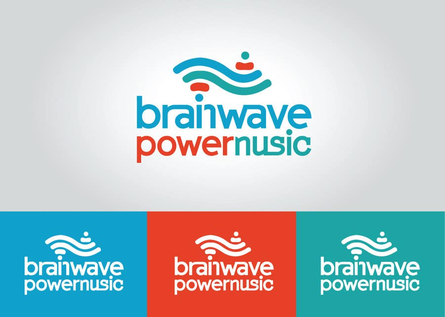 Konkurrenceindlæg #23 for Design a Logo for Brainwave Power Music