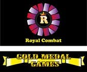 Graphic Design Contest Entry #19 for Design a Logo for Gold Medal Games and Royal Combat