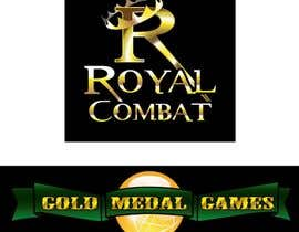 #29 para Design a Logo for Gold Medal Games and Royal Combat por flowkai