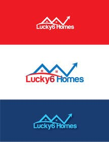 #155 for Design a Logo for Lucky6 Homes by silverhand00099