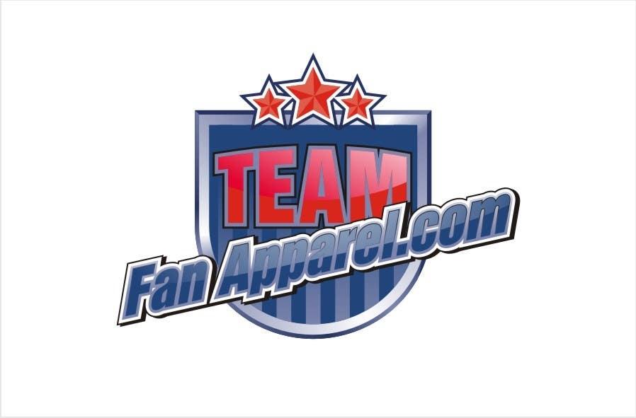 Inscrição nº                                         77                                      do Concurso para                                         Logo Design for TeamFanApparel.com