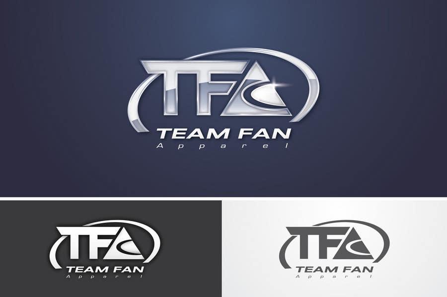 Inscrição nº                                         93                                      do Concurso para                                         Logo Design for TeamFanApparel.com