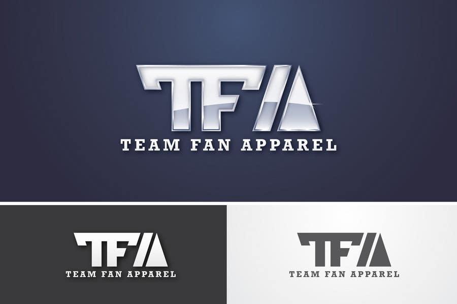 Inscrição nº                                         74                                      do Concurso para                                         Logo Design for TeamFanApparel.com