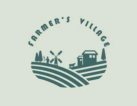 #186 para Farmers Village Logo por Sunish2809