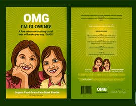 #42 for Package Labels: Stylish Layout Needed for a New Organic Cosmetic Face Mask by prakash777pati