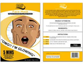 #11 for Package Labels: Stylish Layout Needed for a New Organic Cosmetic Face Mask by Vizscope