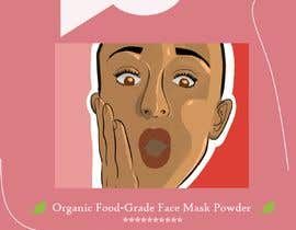 #10 for Package Labels: Stylish Layout Needed for a New Organic Cosmetic Face Mask by AfroditiK