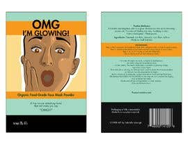 #8 for Package Labels: Stylish Layout Needed for a New Organic Cosmetic Face Mask by muhaimin11646