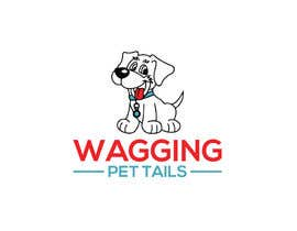 #186 for Logo Design for Wagging Tail Pets by nopurakter050
