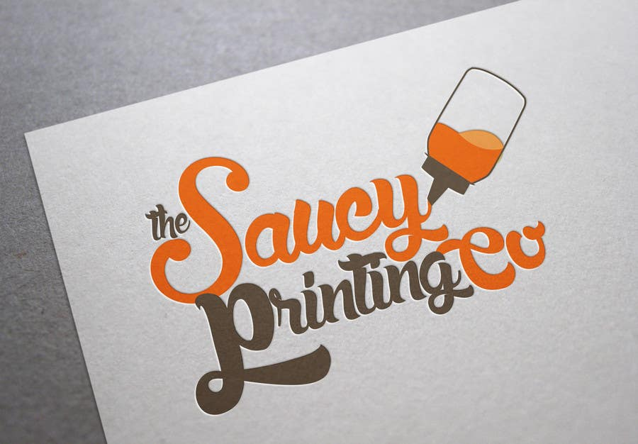 "Contest Entry #                                        41                                      for                                         Design a Logo for "" The Saucy Printing Co. """