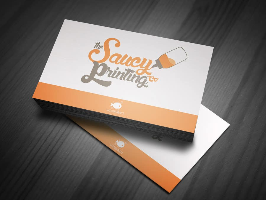 """Contest Entry #                                        46                                      for                                         Design a Logo for """" The Saucy Printing Co. """""""