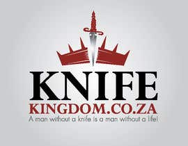 #33 para Design a Logo for Knife Kingdom por taherznaidi