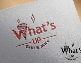 #38 untuk Design a Logo for brand Called (What's Up) grill & More oleh starikma