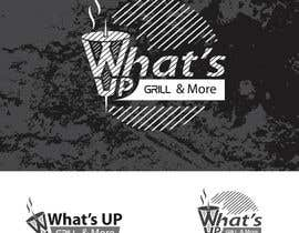 #48 untuk Design a Logo for brand Called (What's Up) grill & More oleh starikma