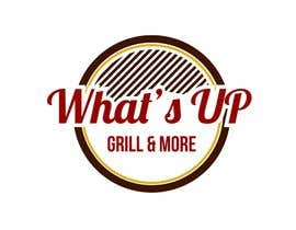 #35 for Design a Logo for brand Called (What's Up) grill & More by tinaszerencses