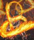 "Graphic Design Intrarea #27 pentru concursul ""Fantasy Card Game Art - Contest 12 (spells)"""