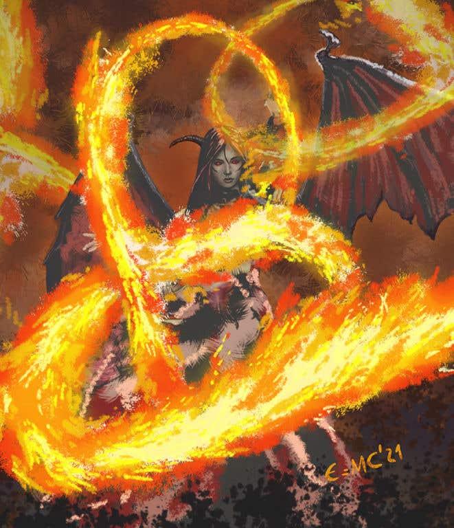 Konkurrenceindlæg #                                        27                                      for                                         Fantasy Card Game Art - Contest 12 (spells)