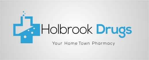 Konkurrenceindlæg #                                        3                                      for                                         Design a Logo for Holbrook Drugs
