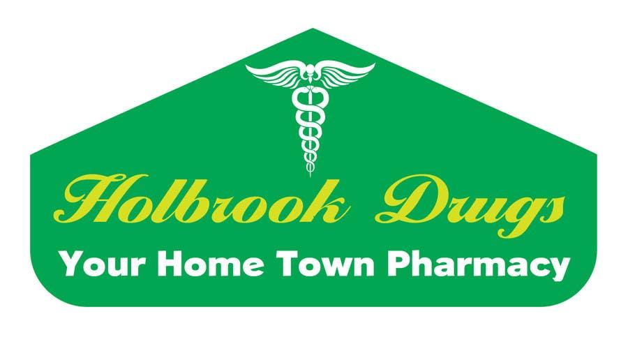 Konkurrenceindlæg #                                        4                                      for                                         Design a Logo for Holbrook Drugs