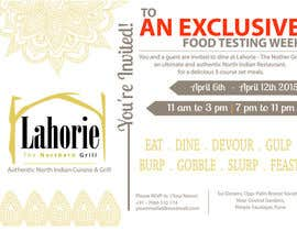 #3 for Design an email invite to food bloggers by AshikinZainol