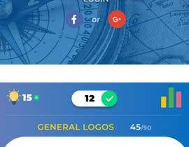 """nº 171 pour Reskin App Design for """"Geography Quiz"""". Contest winner will be awarded full project. par ricsiecruz"""