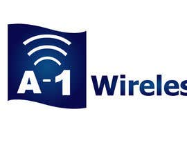 #117 para Logo Design for A-1 Wireless por preethamdesigns