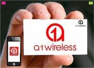Logo Design for A-1 Wireless için Graphic Design1 No.lu Yarışma Girdisi