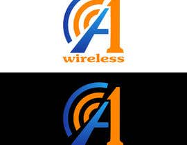 #126 para Logo Design for A-1 Wireless por vladimirsozolins