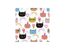 #3 para sticker design of funny or cute cat or dog multiple winners posisble. por shriyaray19