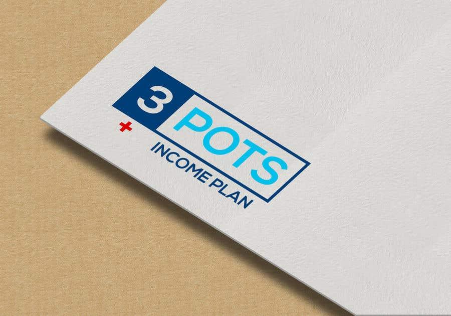 "Contest Entry #                                        190                                      for                                         Logo Design ""3 Pots Income Plan"""