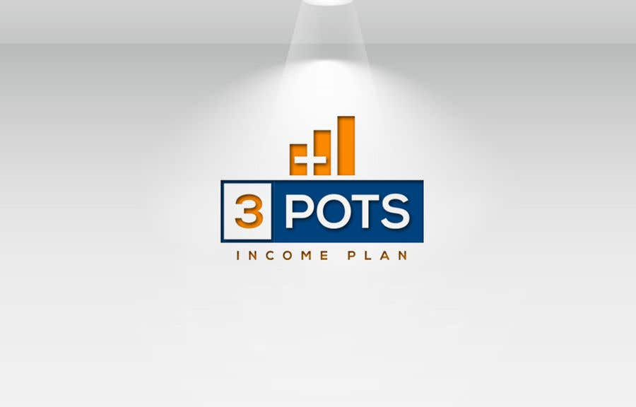 "Contest Entry #                                        196                                      for                                         Logo Design ""3 Pots Income Plan"""