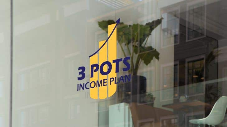 "Contest Entry #                                        197                                      for                                         Logo Design ""3 Pots Income Plan"""