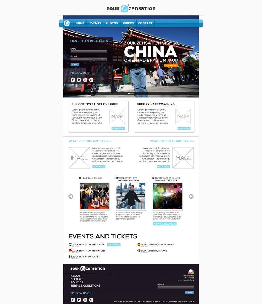 Inscrição nº 3 do Concurso para Graphic Design for (re)building simple website