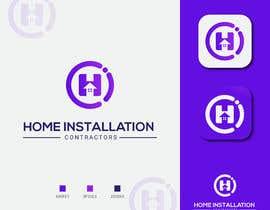 #419 pentru Home Installation Contractors Logo de către masudislamtari12