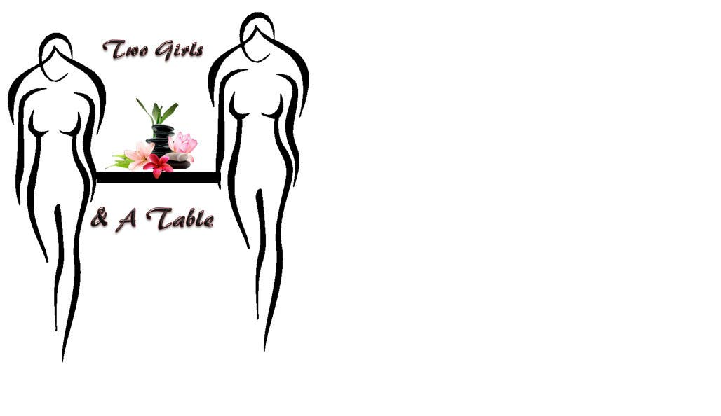 Penyertaan Peraduan #23 untuk Design a Logo for Two Girls and a Table